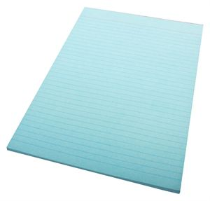 Image for QUILL RULED BOND PAD 70GSM 50 LEAF A4 BLUE from Office National Perth CBD