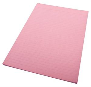 Image for QUILL RULED BOND PAD 70GSM 50 LEAF A4 PINK from Office National Perth CBD