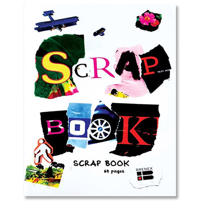 Image for BRENEX SCRAP BOOK 340 X 240MM 100GSM 64 PAGES from Wetherill Park / Smithfield Office National
