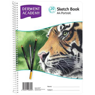 Image for DERWENT ACADEMY ARTIST SKETCH BOOK PP PORTRAIT A4 20 SHEETS from Our Town & Country Office National