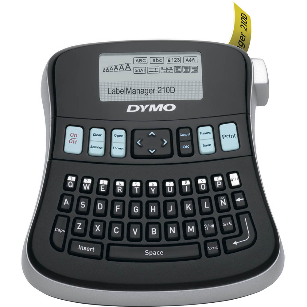 Image for DYMO LABELMANAGER LM210D LABEL MAKER from Our Town & Country Office National