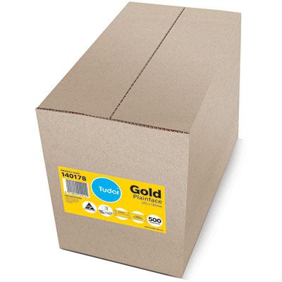 Image for TUDOR ENVELOPES POCKET PLAINFACE STRIP SEAL 80GSM 255 X 180MM GOLD BOX 500 from Mackay Business Machines (MBM)