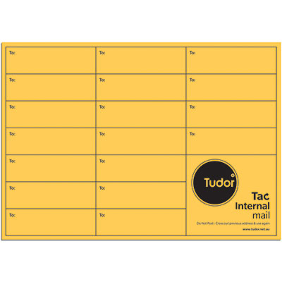 Image for TUDOR C4 ENVELOPES INTEROFFICE POCKET TAC SEAL 135GSM 324 X 229MM GOLD PACK 50 from Axsel Office National
