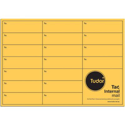 Image for TUDOR C4 ENVELOPES INTEROFFICE POCKET TAC SEAL 135GSM 324 X 229MM GOLD PACK 50 from Mackay Business Machines (MBM)