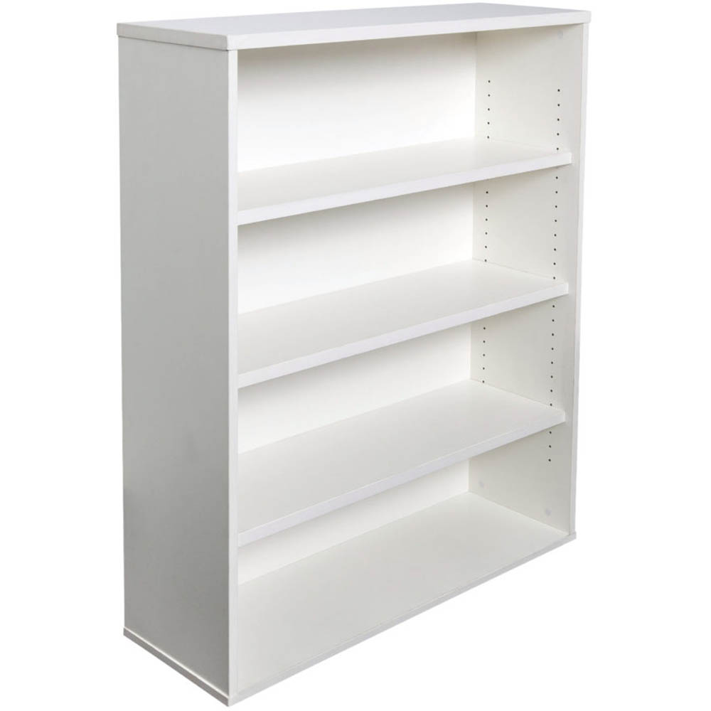 Image for RAPID VIBE BOOKCASE 3 SHELF 900 X 315 X 1200MM WHITE from Office National Perth CBD