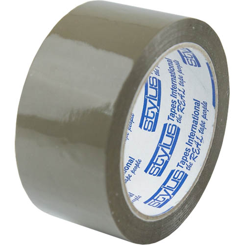 Image for VIBAC PP30 PACKAGING TAPE 48MM X 75M BROWN from Exchange Printers Office National