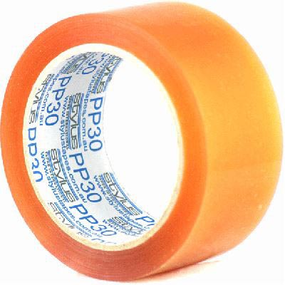 Image for VIBAC PP30 PACKAGING TAPE 36MM X 75M CLEAR from Exchange Printers Office National