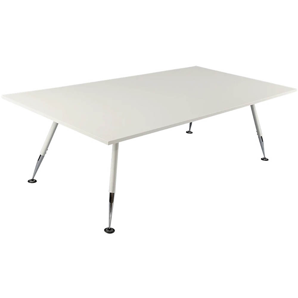 Image for FLEET BOARD TABLE 2400 X 1200 X 900MM WHITE from Wetherill Park / Smithfield Office National