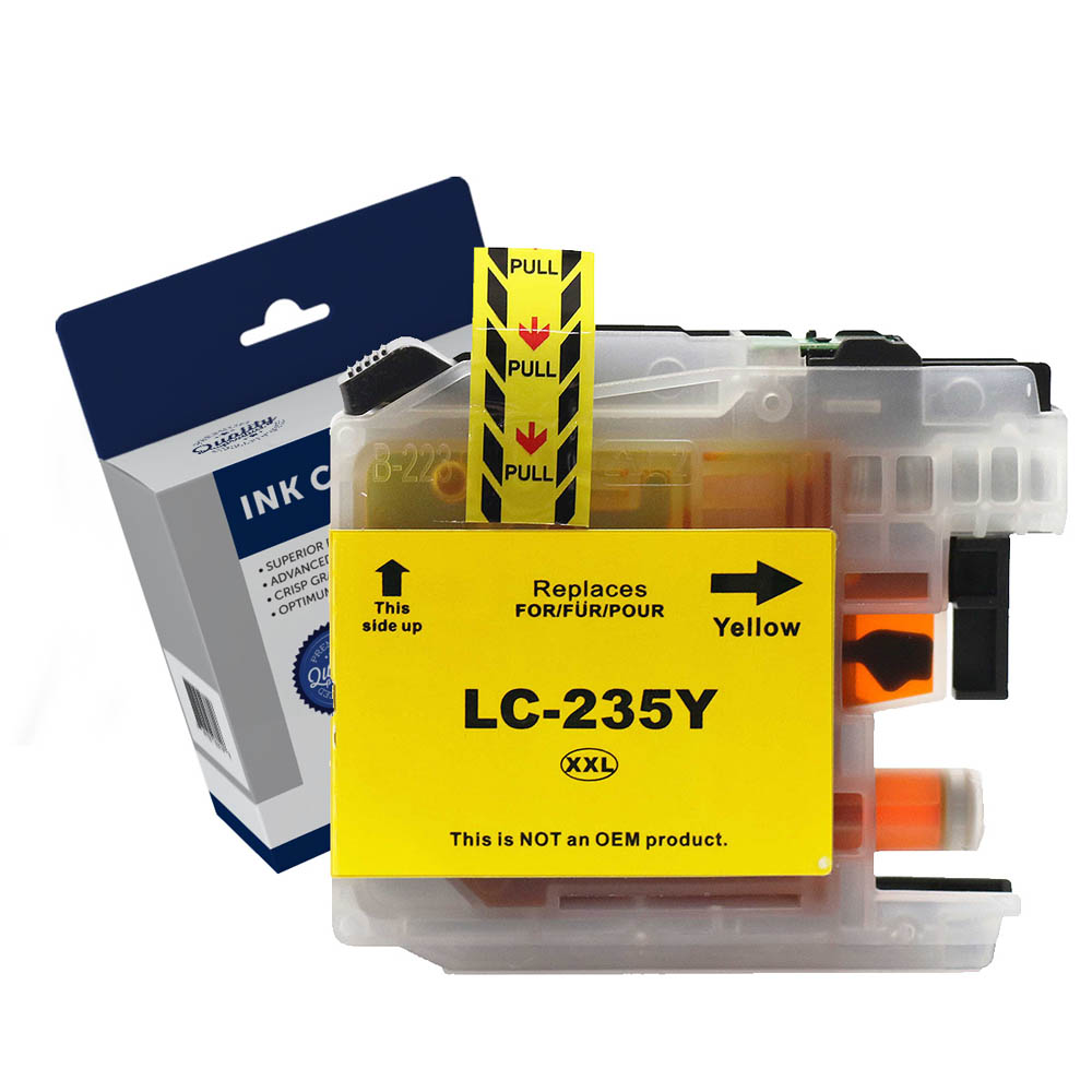 Image for COMPATIBLE BROTHER LC235XLY INK CARTRIDGE HIGH YIELD YELLOW from Our Town & Country Office National