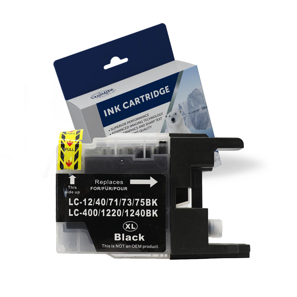 Image for COMPATIBLE BROTHER LC73BK INK CARTRIDGE HIGH YIELD BLACK from Our Town & Country Office National