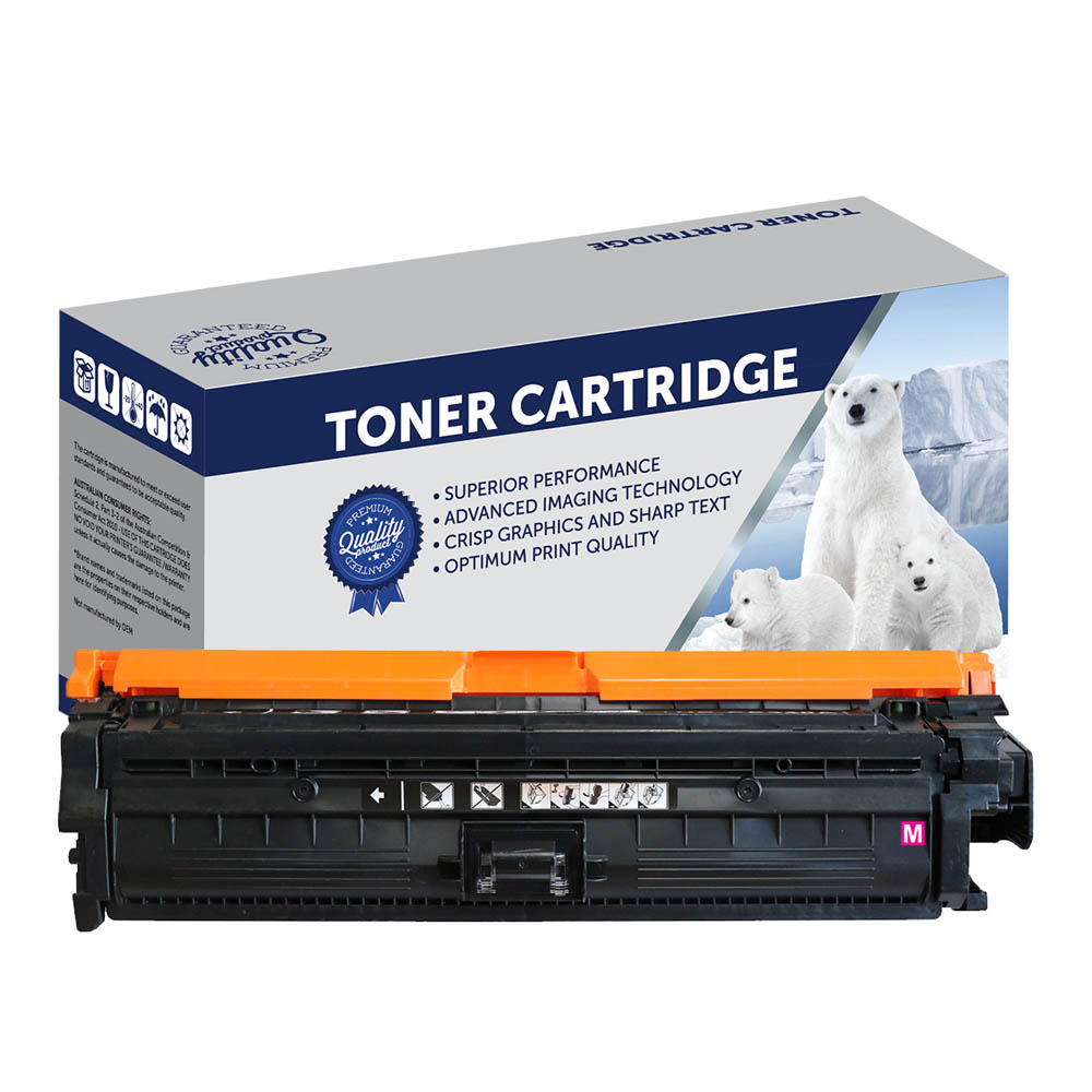 Image for COMPATIBLE HP CE343A 651A TONER CARTRIDGE MAGENTA from Ezi Office National Tweed