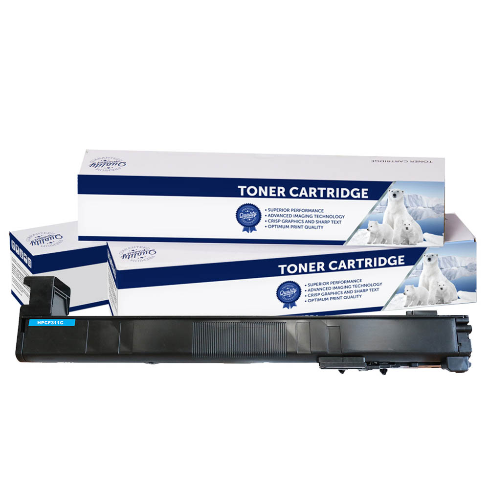 Image for COMPATIBLE HP CF311A 826 TONER CARTRIDGE CYAN from Pirie Office National