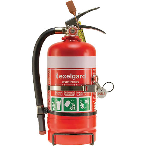Image for BRADY FIRE EXTINGUISHER ABE DRY CHEMICAL 2KG from Office National Barossa