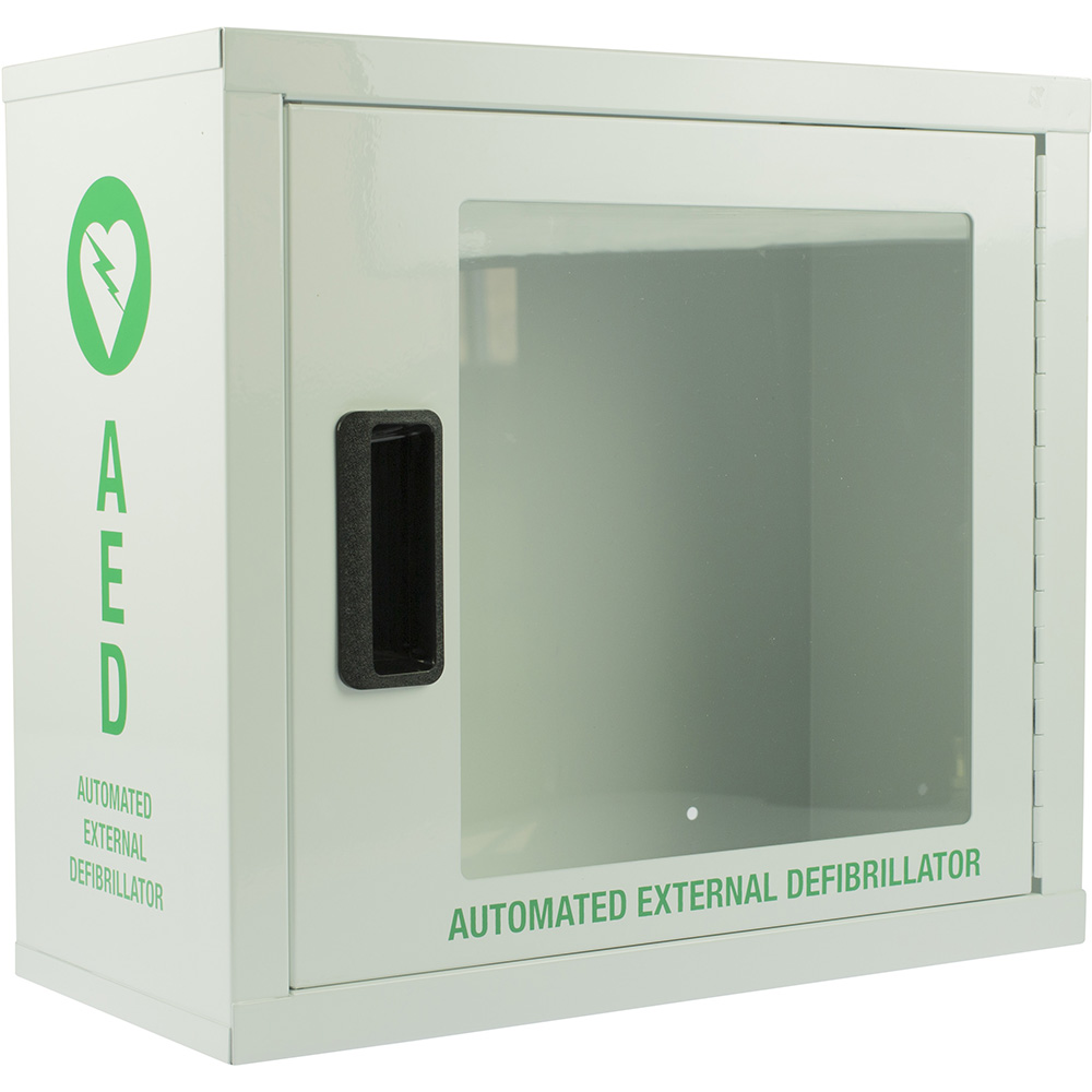 Image for TRAFALGAR DEFIBRILLATOR CABINET WITH ALARM from Our Town & Country Office National