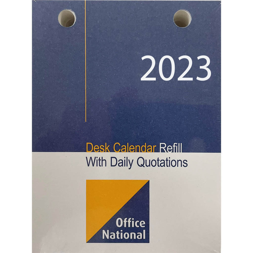 Image for OFFICE NATIONAL 2021 DESK CALENDAR REFILL TOP PUNCH from Office National Perth CBD