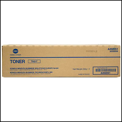 Image for KONICA MINOLTA TN217 TONER CARTRIDGE BIZHUB 223 BLACK from Two Bays Office National