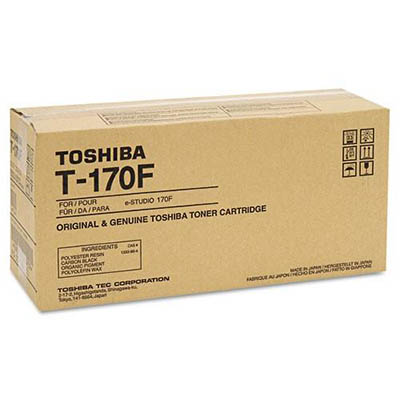 Image for TOSHIBA T170F TONER CARTRIDGE BLACK from Office National Capalaba