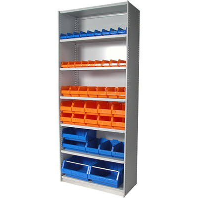 Image for APC STEEL UNI SHELVING 2175 X 1200 X 400MM INCLUDING 7 SHELVES WHITE SATIN from Our Town & Country Office National