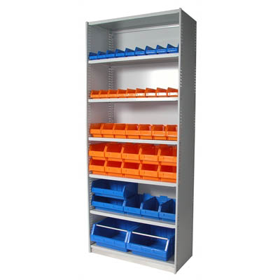 Image for APC STEEL UNI SHELVING 2175 X 900 X 400MM INCLUDING 7 SHELVES CYBER GREY from Ezi Office National Tweed