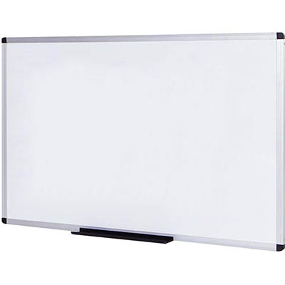 Image for INITIATIVE MAGNETIC WHITEBOARD ALUMINIUM FRAME 1200 X 900MM from MOE Office Products Depot Mackay & Whitsundays