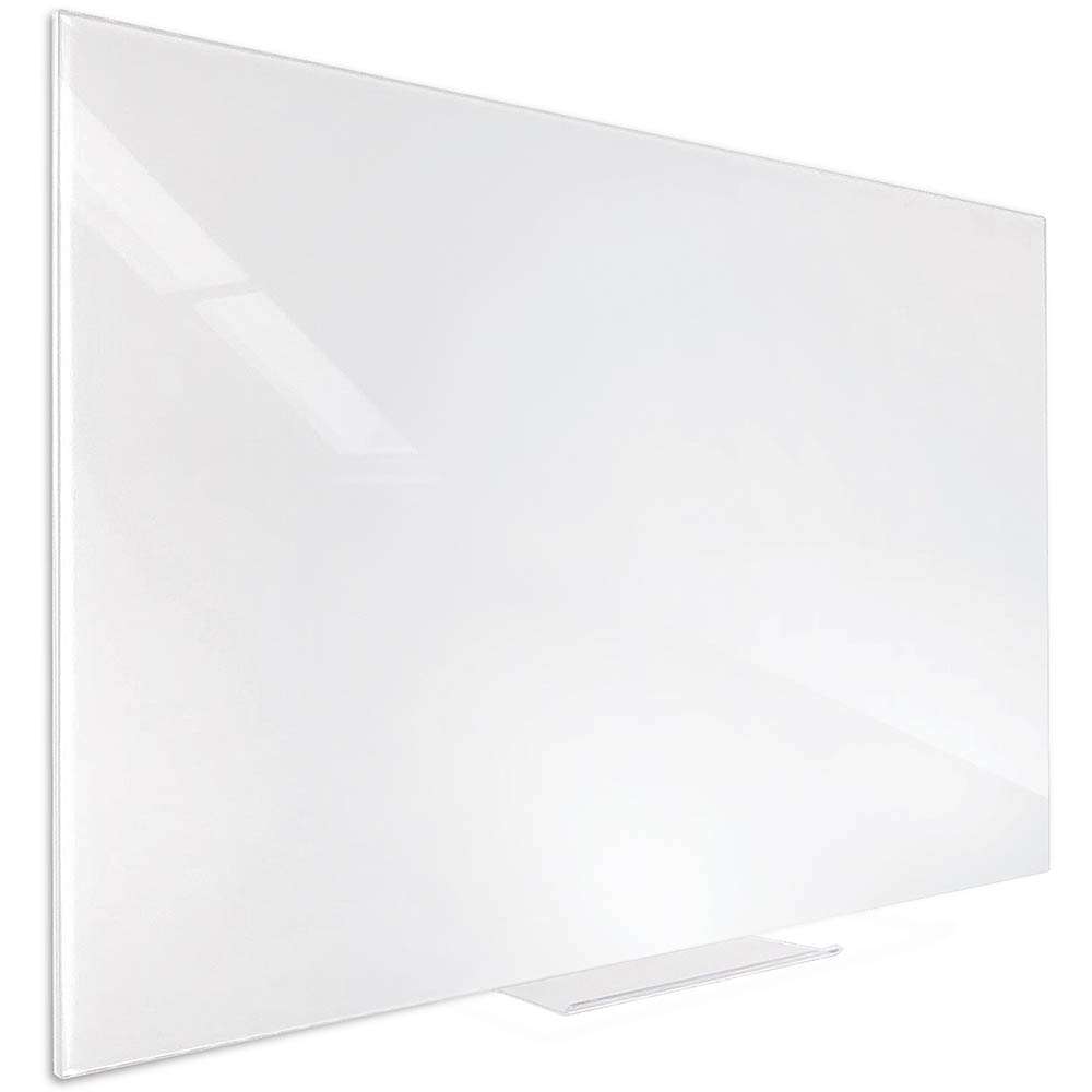 Image for VISIONCHART ACCENT GLASS WHITEBOARD 600 X 450MM WHITE from MOE Office Products Depot Mackay & Whitsundays