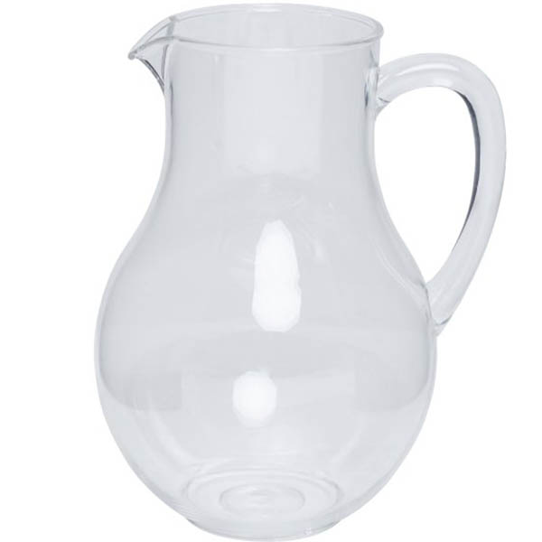 Image for CONNOISSEUR JUG POLYCARBONATE 2.2 LITRE from Australian Stationery Supplies Office Products Dep