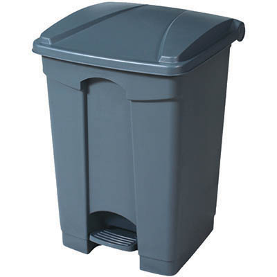Image for COMPASS PEDAL BIN 68 LITRE GREY from Office National Limestone Coast