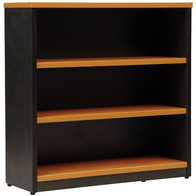 Image for OXLEY BOOKCASE 3 SHELF 900 X 315 X 900MM BEECH/IRONSTONE from Office National Perth CBD