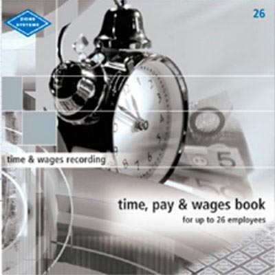 Image for ZIONS TIME PAY AND WAGES BOOK 6 - 26 EMPLOYEES from SBA Office National