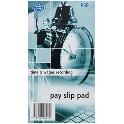 Image for ZIONS PAY SLIP PADS 135 X 85MM PACK 10 from SBA Office National