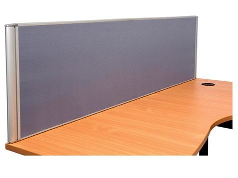 Image for RAPIDLINE 1205 DESK MOUNTED SCREEN 1200X500 GREY from Our Town & Country Office National