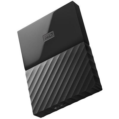 Image for WESTERN DIGITAL MY PASSPORT PORTABLE HARD DRIVE 4TB BLACK from Our Town & Country Office National