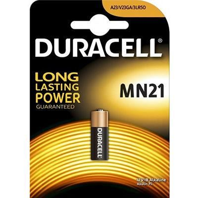 Image for DURACELL MN21/A23 ALKALINE SECURITY BATTERY from Wetherill Park / Smithfield Office National