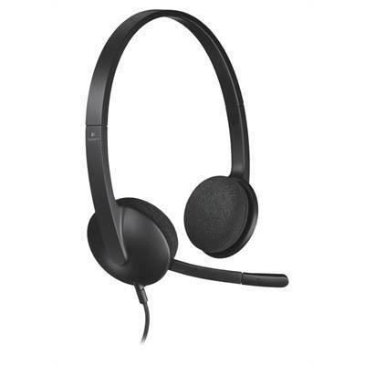Image for LOGITECH H340 USB HEADSET BLACK from Wetherill Park / Smithfield Office National