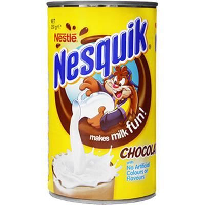 Image for NESTLE NESQUIK CHOCOLATE 250GMS from Wetherill Park / Smithfield Office National
