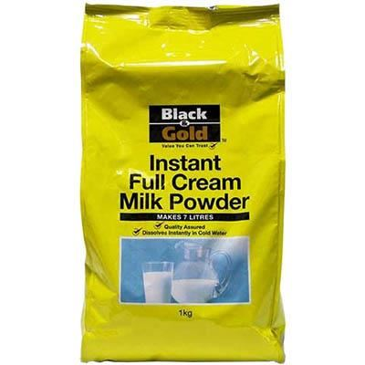 Image for BLACK AND GOLD FULL CREAM MILK POWDER 1 LITRE from Wetherill Park / Smithfield Office National