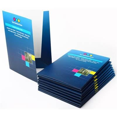 Image for CUSTOM PRINT PRESENTATION FOLDER 310GSM (310 X 220MM) FULL COLOUR PRINT BOTH SIDES from Wetherill Park / Smithfield Office National
