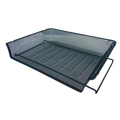 Image for ESSELTE DOCUMENT TRAY METAL MESH A4 LANDSCAPE from Taupo Office Products Depot