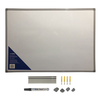 Image for LITEWYTE MAGNETIC WHITEBOARD A1 SIZE L850 X W600 X D30MM from Taupo Office Products Depot
