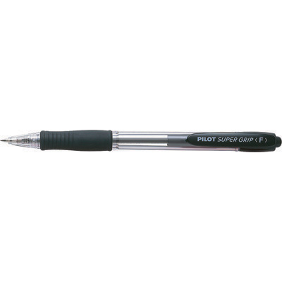 Image for PILOT SUPER GRIP RETRACTABLE BALLPOINT PEN 0.7MM BLACK from Bay Office Products Depot